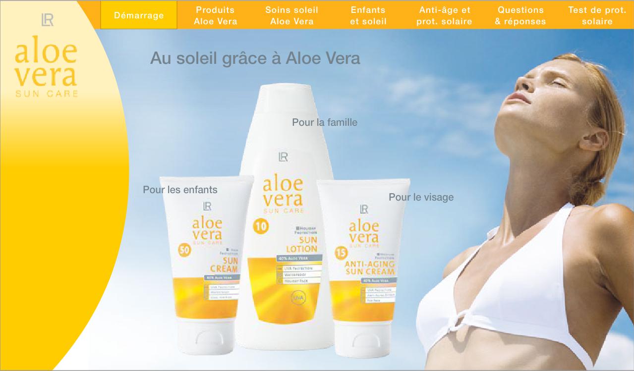 Aloe Vera Solaire